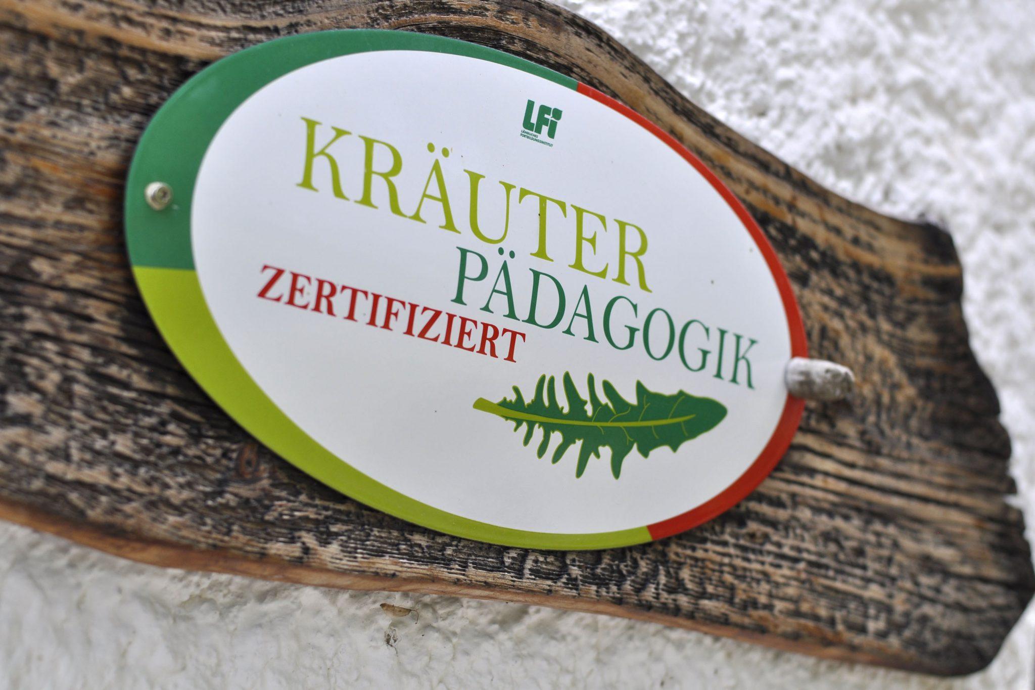 zertifizierte Kräuter-Pädagogik
